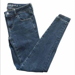 NWOT American Eagles Blue Denim Jeans Jeggings
